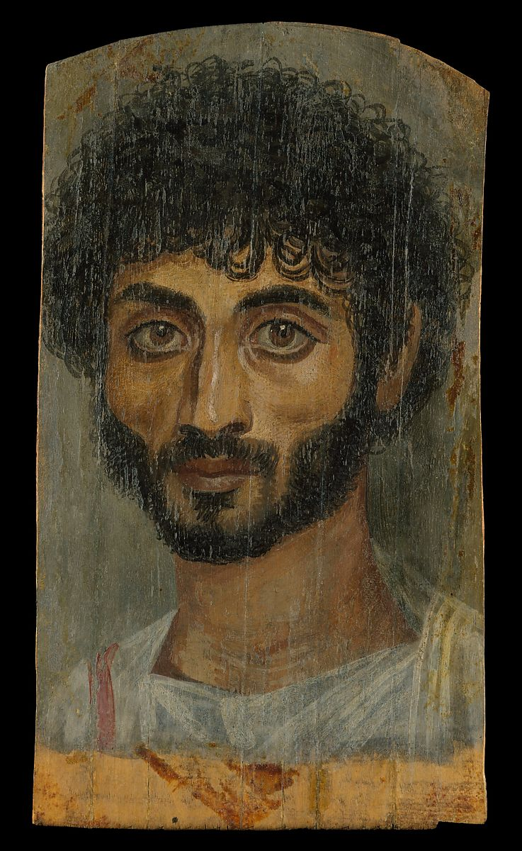 Portrait of a thin-faced, bearded man   Roman Period   The Met