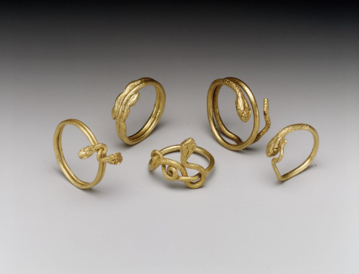 Ancient Roman Rings snake ring | roman period | the met