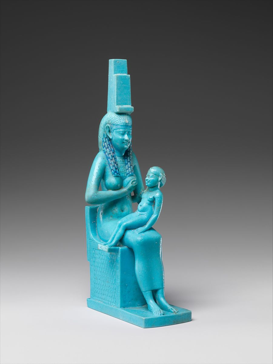 Statuette of Isis and Horus | Ptolemaic Period | The Met