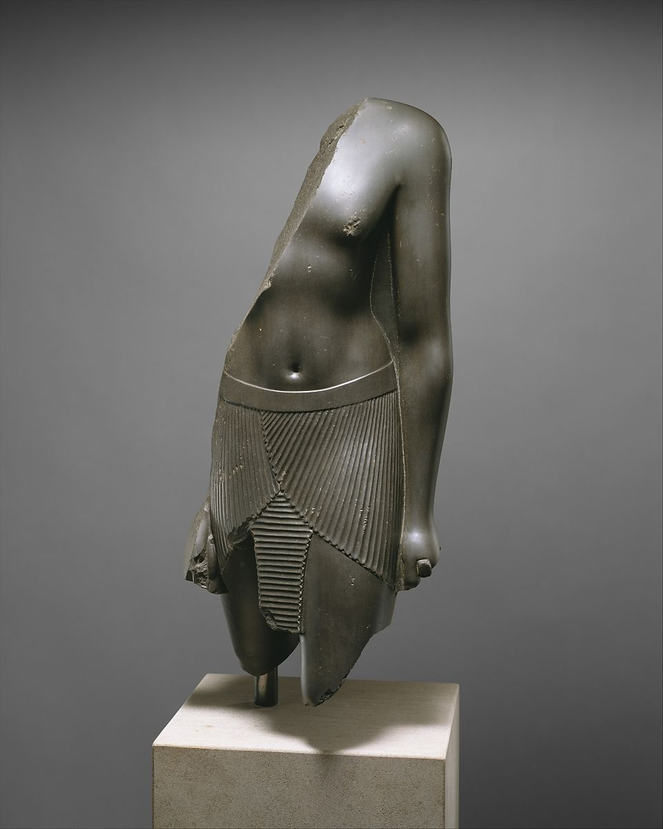 Torso of a High General   Late Period   The Met
