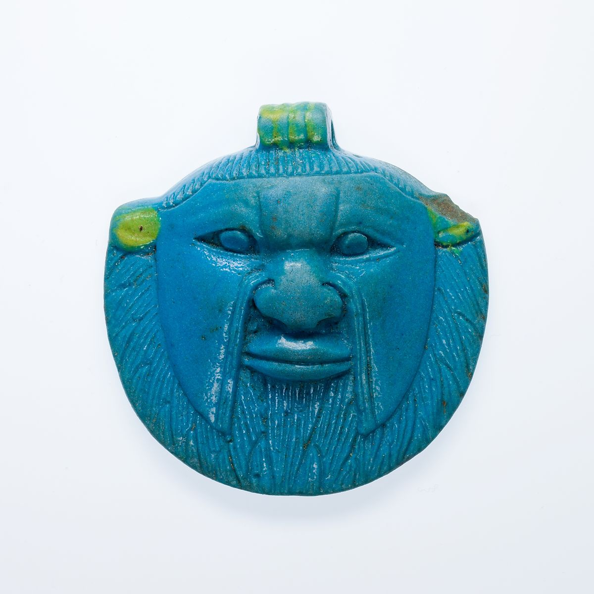 Amulet of the Head of Bes | Late Period | The Met