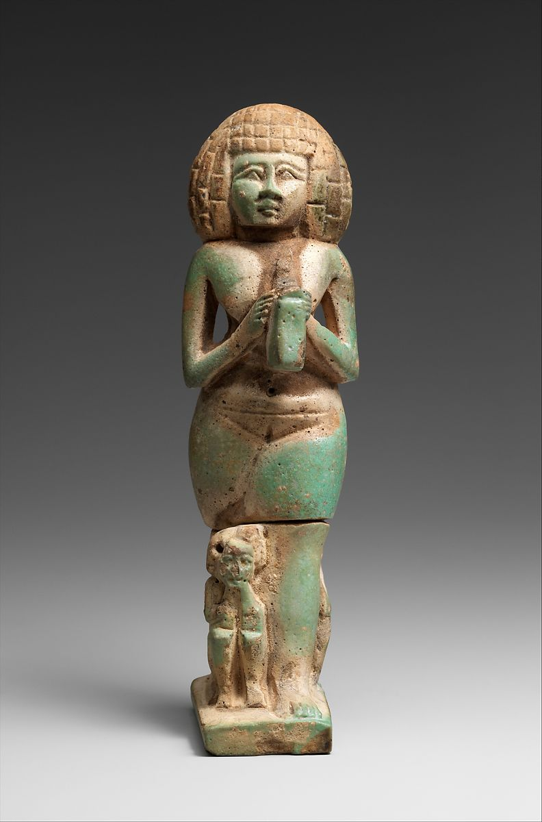 Woman with a lyre | Third Intermediate Period–Late Period | The Met