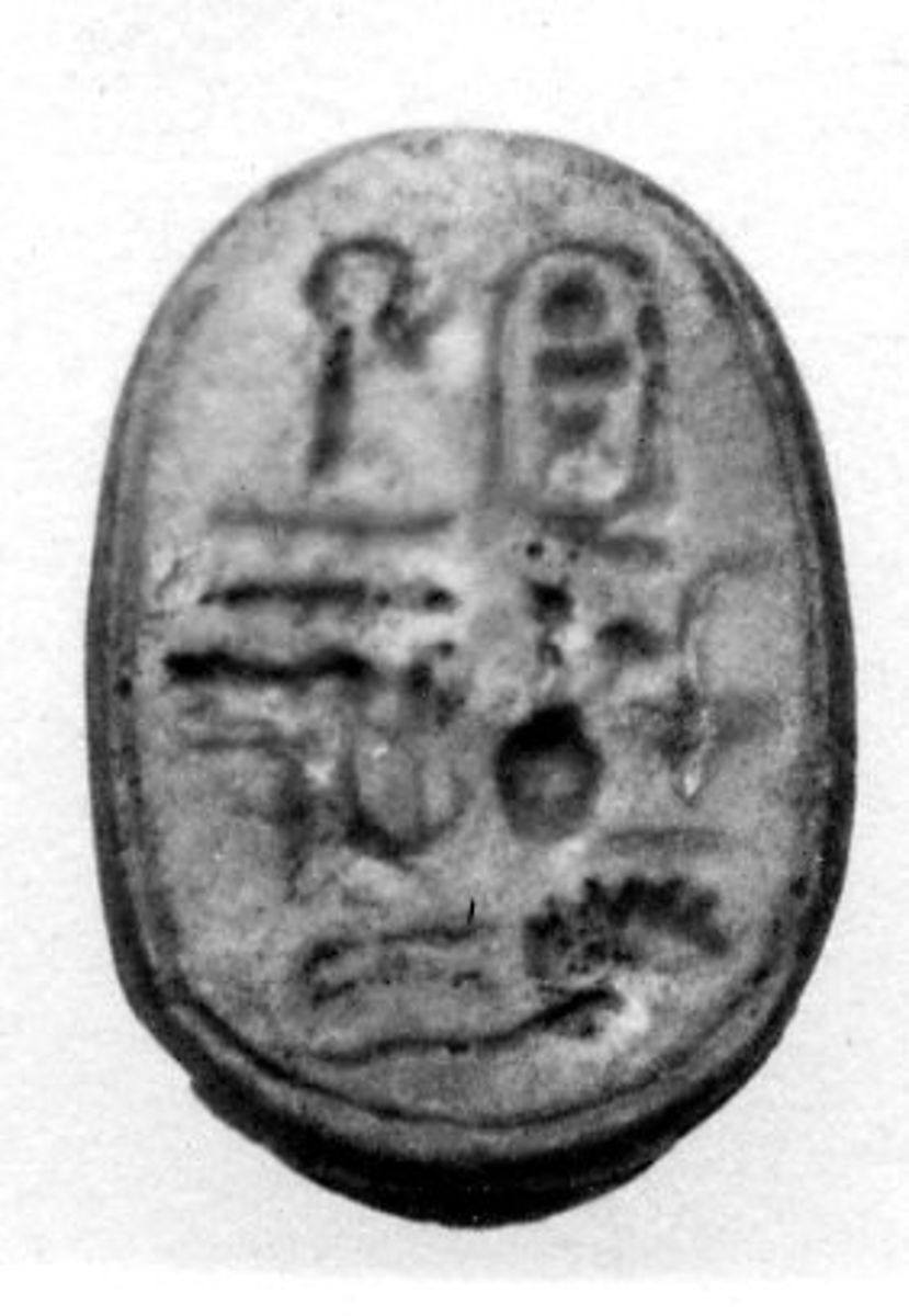 Scarab of Thutmose III | New Kingdom | The Met