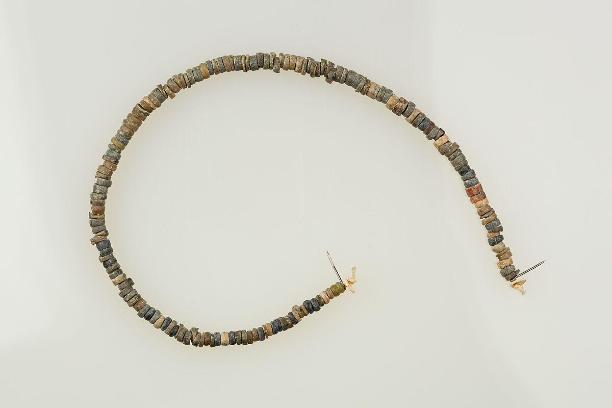 string of beads predynastic naqada ii naqada iii the met. Black Bedroom Furniture Sets. Home Design Ideas