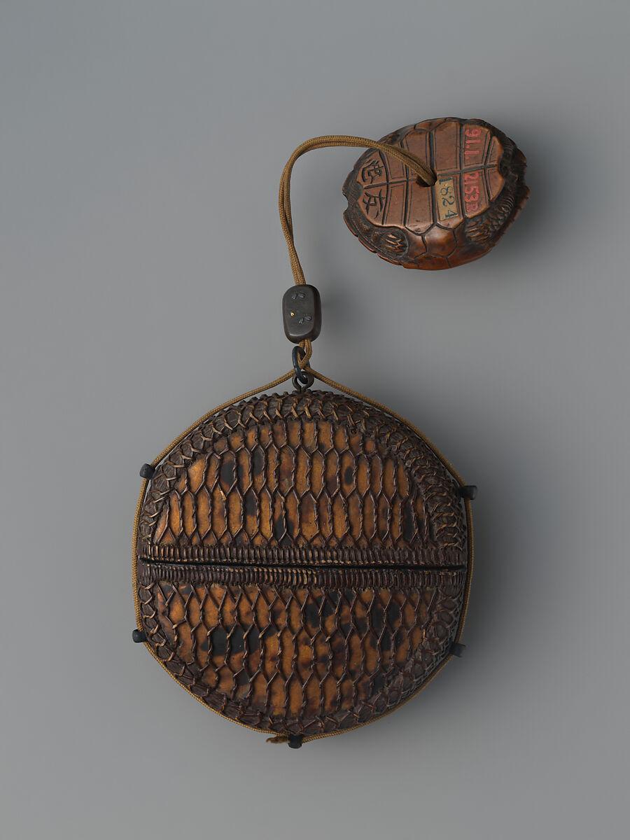Tortoiseshell and Basketry Inrō | Japan | Edo period (1615–1868) | The Met