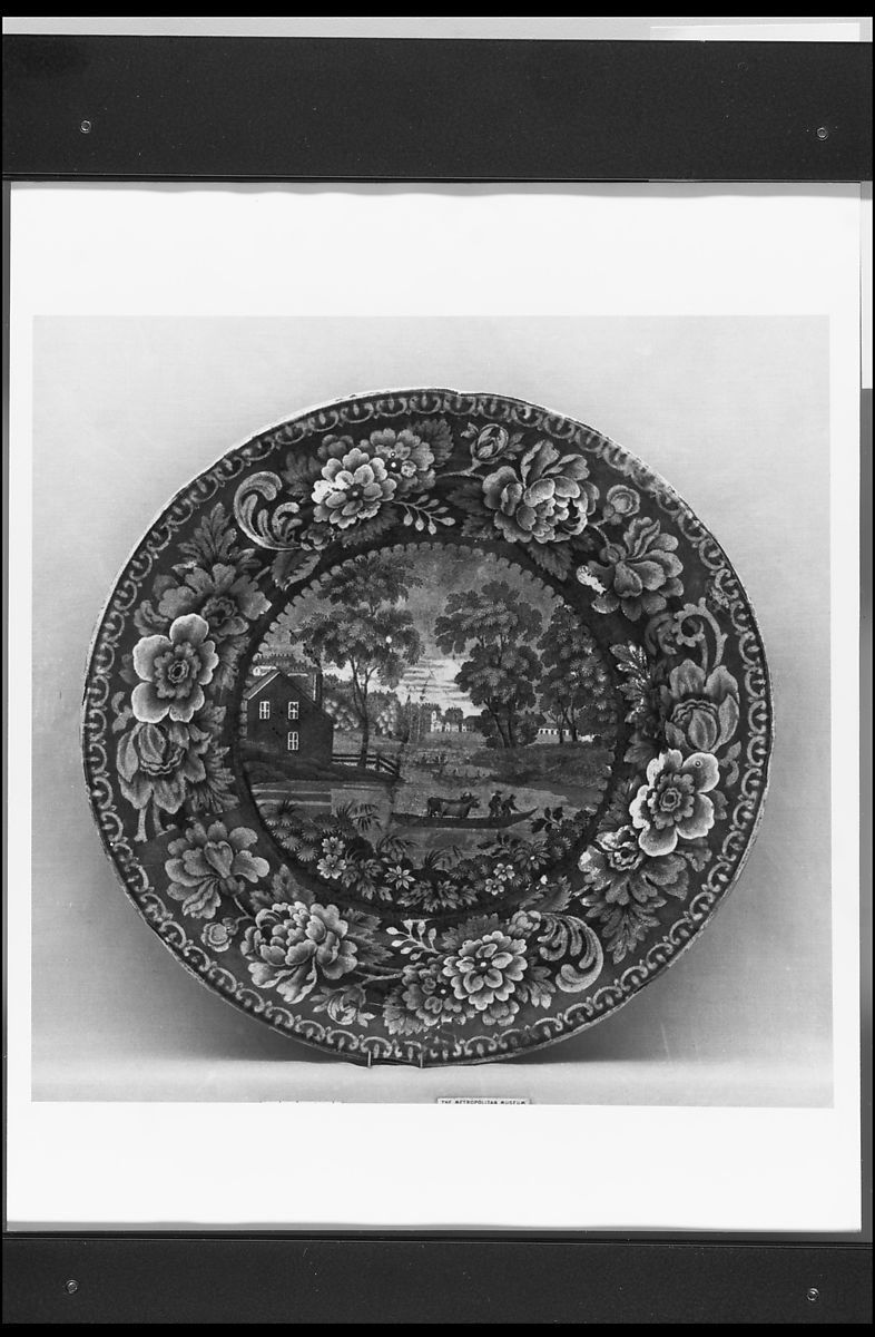 Plate | British (American market) | The Met