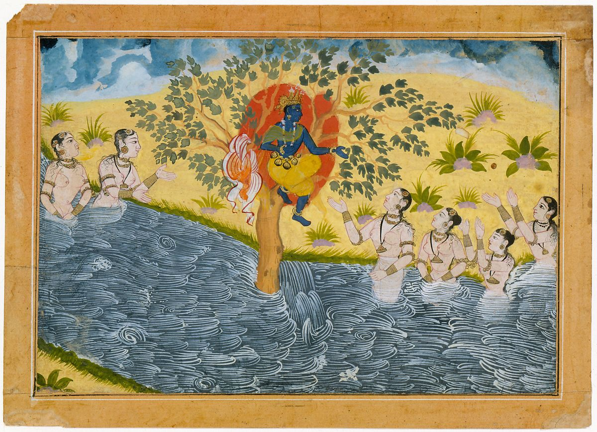 The Gopis Plead with Krishna to Return Their Clothing, Page