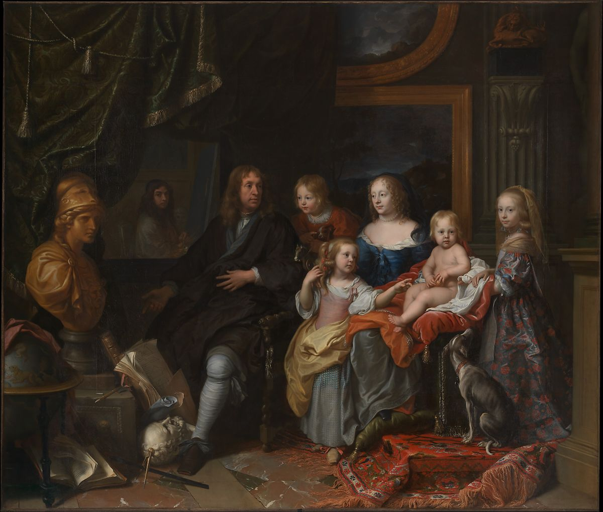 charles le brun everhard jabach 1618 1695 and his family the met