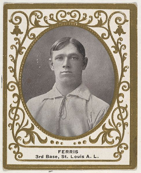 Issued By Mentor Company Boston Ferris 3rd Base St