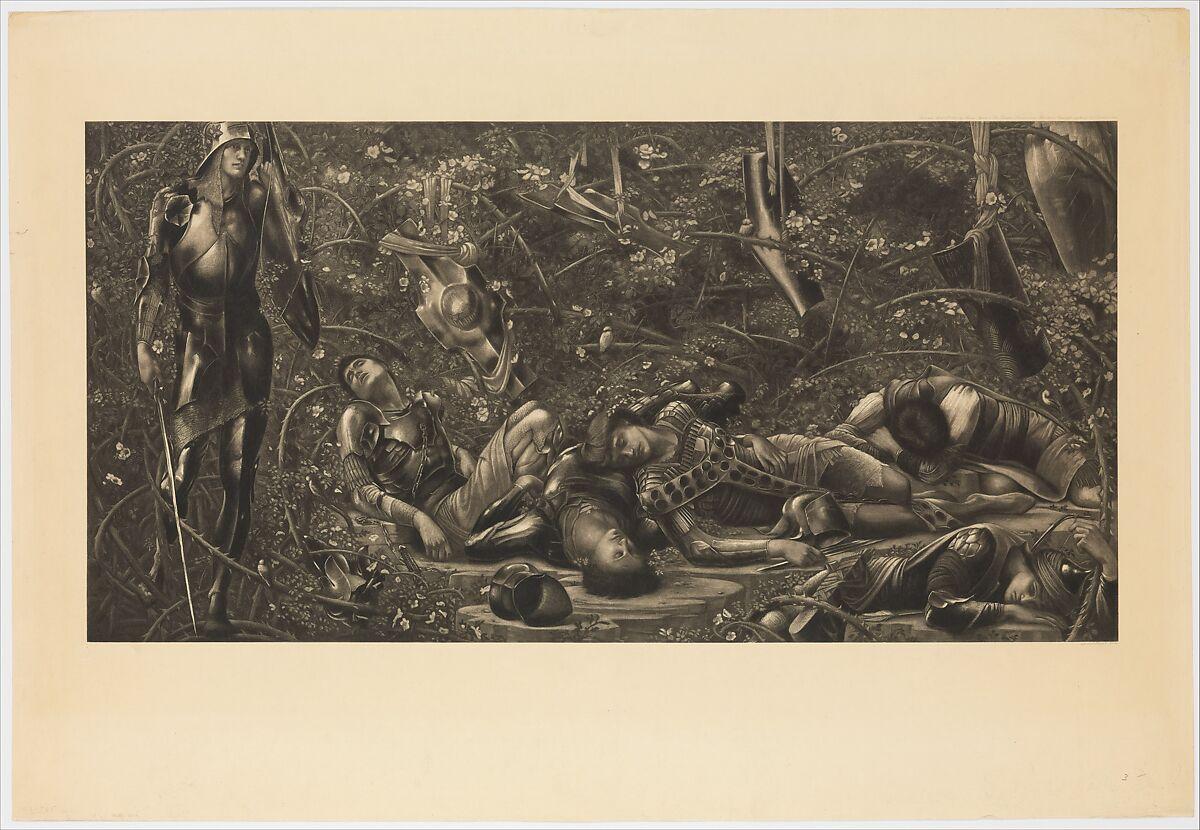 After Sir Edward Burne Jones The Legend Of The Briar Rose The