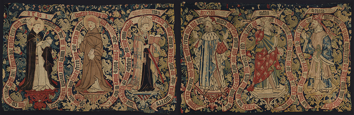 Allegorical Tapestry with Sages of the Past,ca. 1480–1500 German