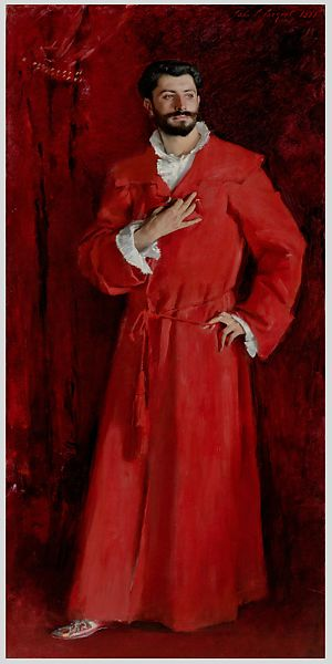 John Singer Sargent Dr Pozzi At Home American The Met