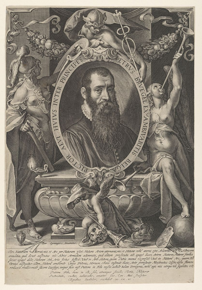 Aegidius Sadeler II | Portrait of Pieter Breughel the Younger | The Met