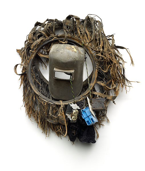 Lonnie Holley   African Mask   The Met