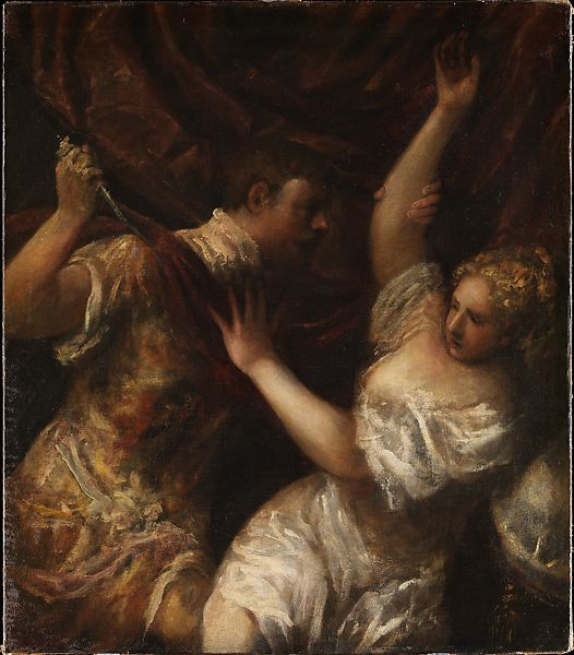 Titian (Tiziano Vecellio) | Tarquin and Lucretia | The Met