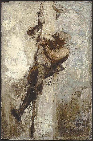 Honoré Daumier | Man on a Rope | The Met