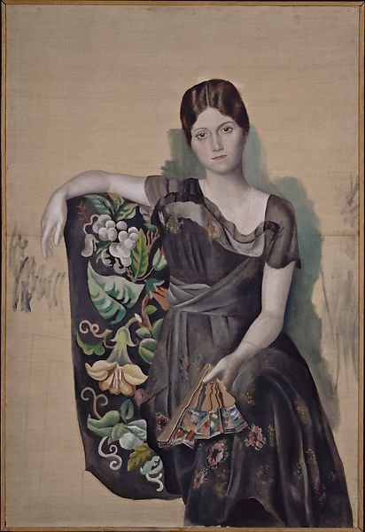Pablo Picasso | Portrait of Olga in an Armchair | The Met