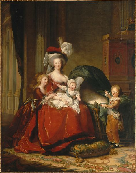 Elisabeth Louise Vigée Le Brun Marie Antoinette And Her Children The Metropolitan Museum Of Art