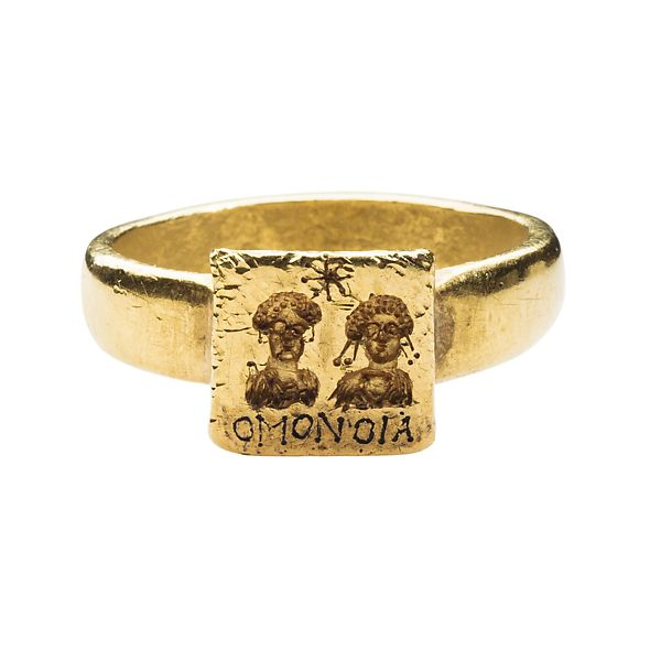 Gold Marriage Ring | Byzantine | The Met