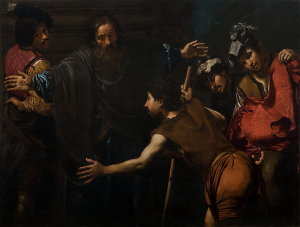 Valentin De Boulogne Return Of The Prodigal Son The Met