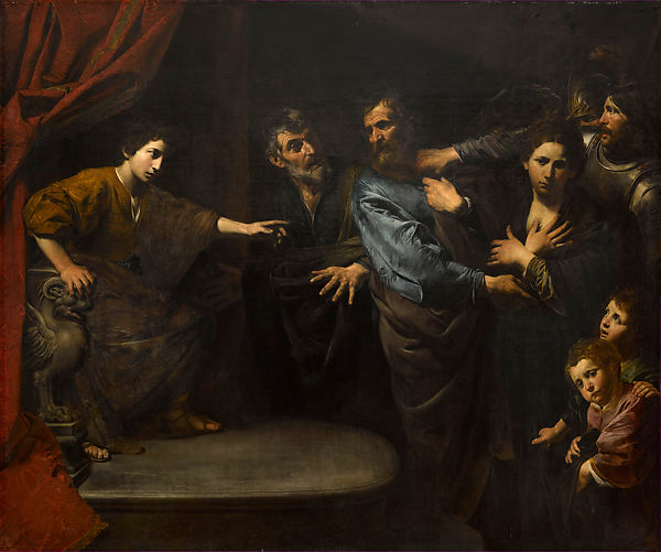 Innocence of Susanna, Valentin de Boulogne (French, Coulommiers-en-Brie 1591–1632 Rome), Oil on canvas