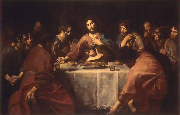 Valentin de Boulogne | Last Supper | The Met