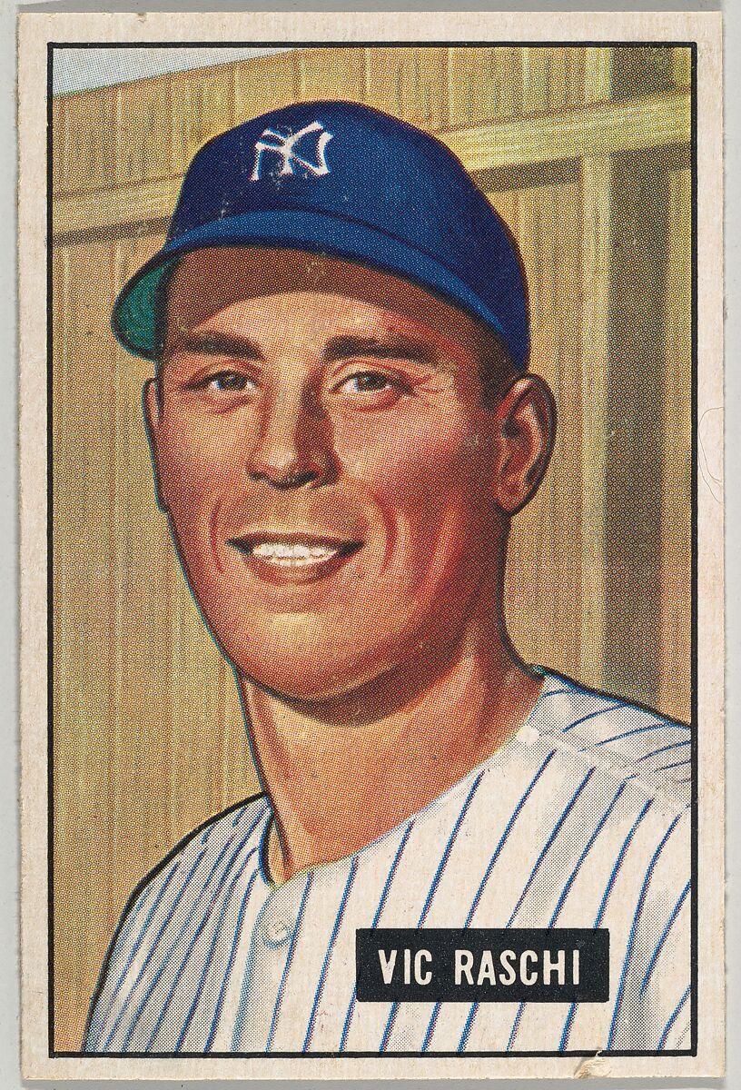 Vic Raschi Pitcher New York Yankees Series 5 R406