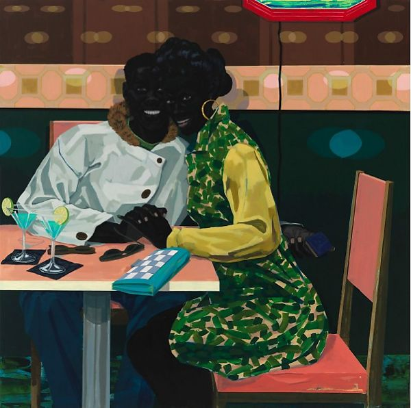 Kerry James Marshall | Untitled (Club Couple) | The Met