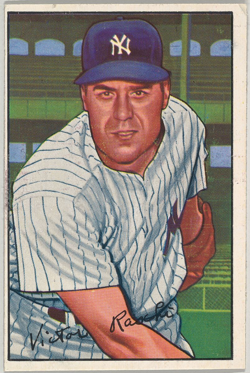 Vic Raschi Pitcher New York Yankees From Picture Cards Series 6