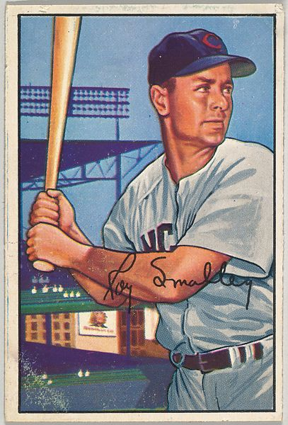 Issued by Bowman Gum Company | Roy Smalley, Shortstop