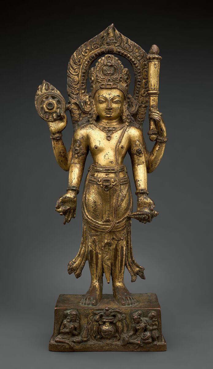 Vishnu   Nepal (Kathmandu Valley)   Thakuri period   The Met