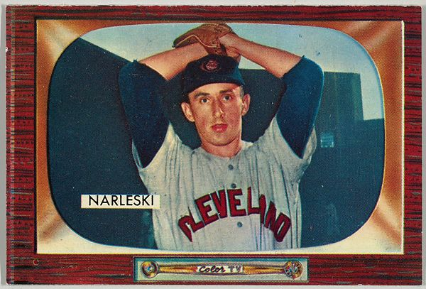Issued by Bowman Gum Company | Ray Narleski, Pitcher