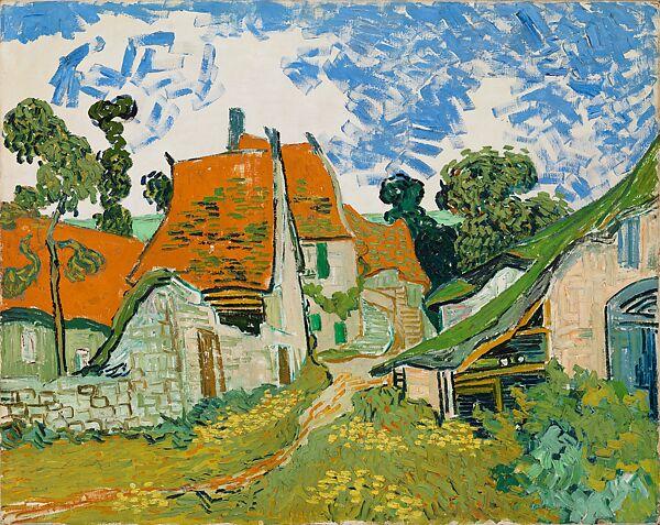 Vincent van Gogh | Street in Auvers-sur-Oise | The Met