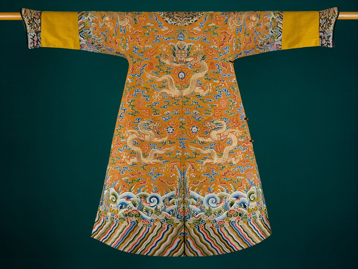 Festival Robe China Qing Dynasty 1644 1911 The Metropolitan Museum Of Art