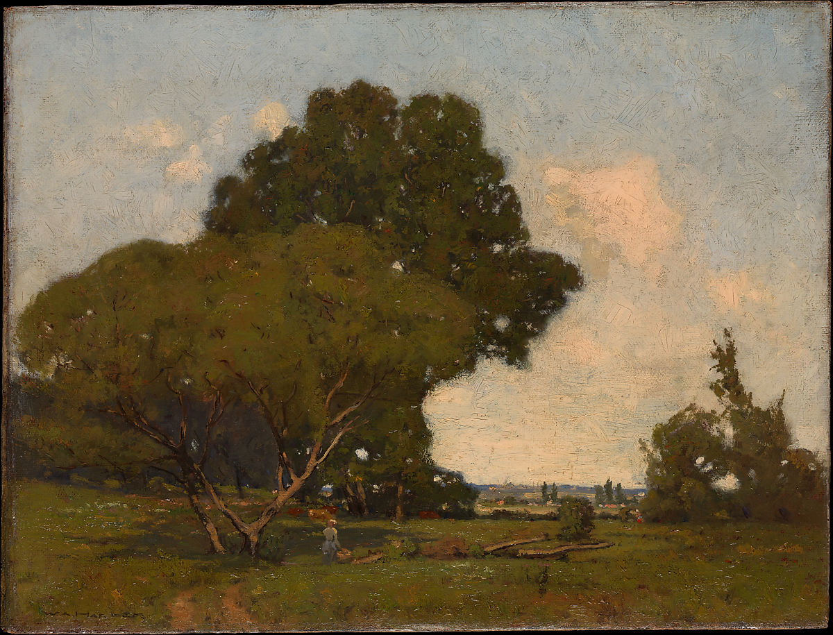 William A. Harper | The Trees, Early Afternoon, France | American | The Met