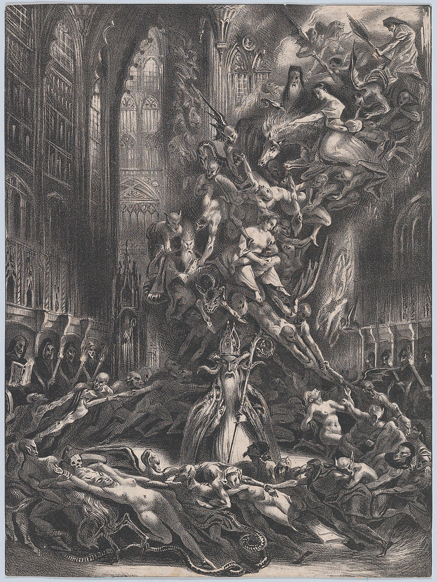 Louis Boulanger   The Round of the Sabbath or Witches' Sabbath   The Met