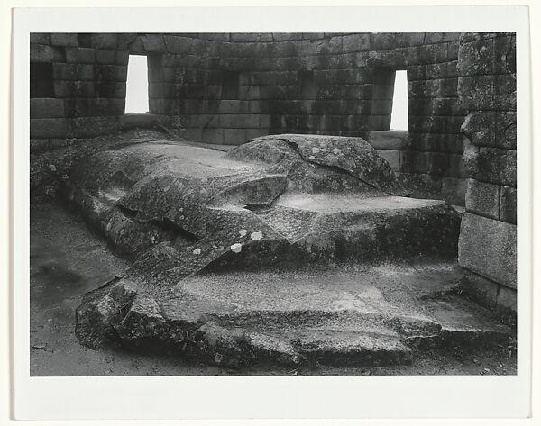 Edward Ranney | Altar, Torreón, Machu Picchu, Peru | The Met