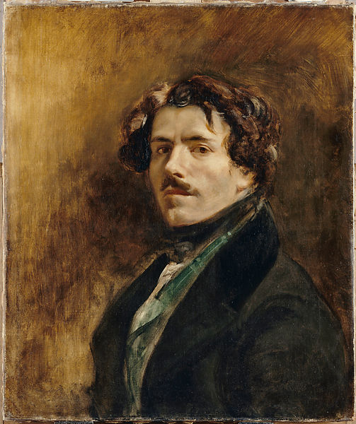 Eugène Delacroix | Self-Portrait in a Green Vest | The Met