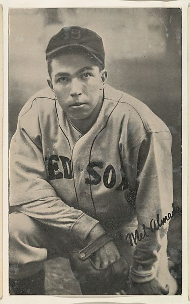 Issued By The Goudey Gum Company Mel Almada From The