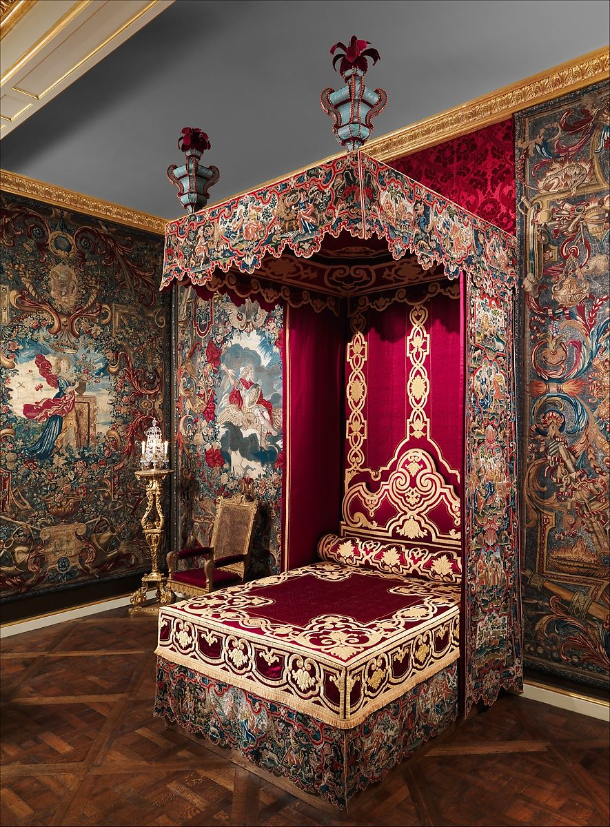 Canopy for a bed | French | The Met