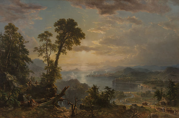 Progress (The Advance of Civilization), Asher Brown Durand (American, Jefferson, New Jersey 1796–1886 Maplewood, New Jersey), Oil on canvas, American