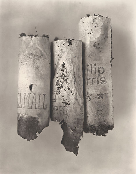 Irving Penn | Cigarette No. 82, New York | The Met