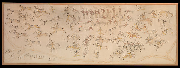 Standing Bear/ Mató Nájin | The Battle of the Little Bighorn | Minneconjou Lakota/ Teton Sioux, Native American | The Met
