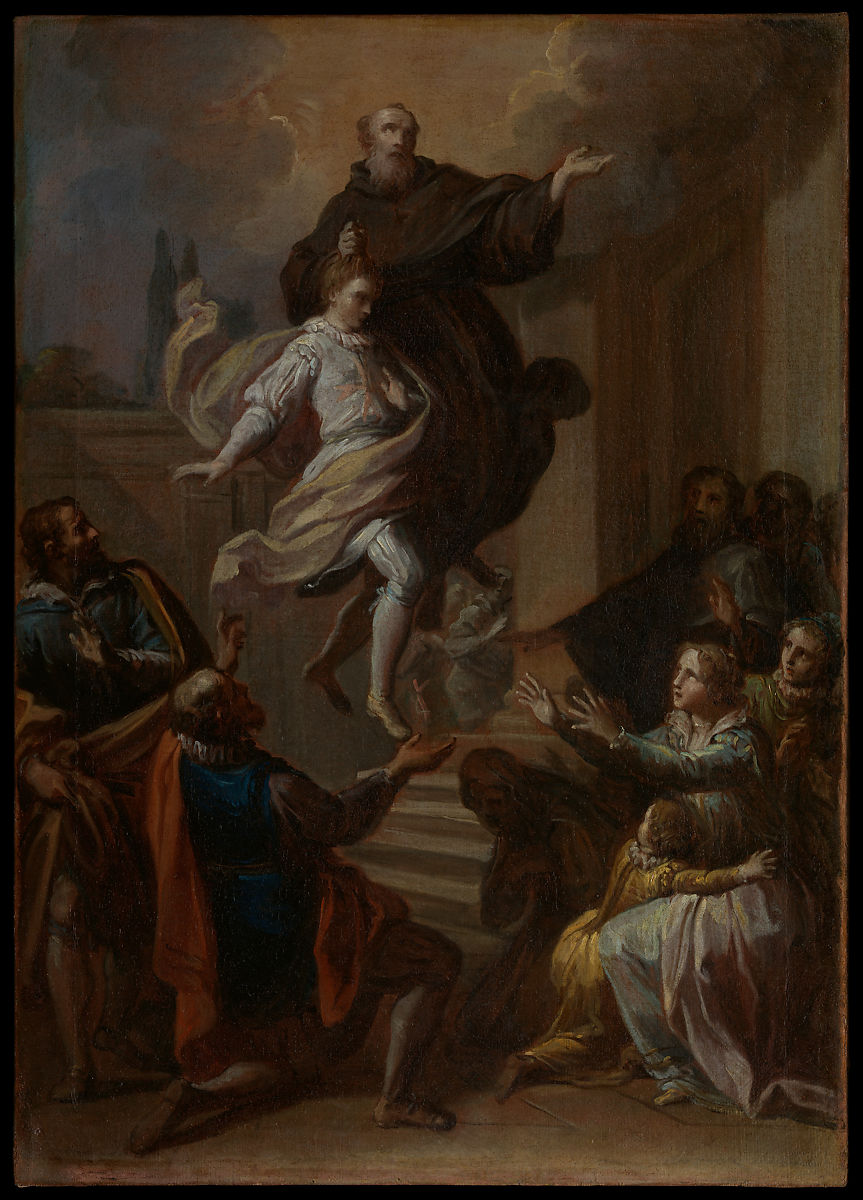 A Miracle of Saint Joseph of Cupertino (1603–1663), Placido Costanzi (