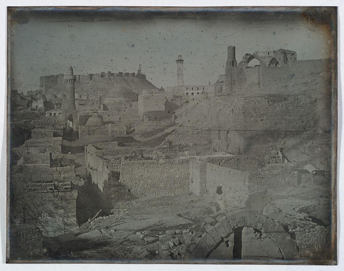 Joseph-Philibert Girault de Prangey | Aleppo, Viewed from the Antioch Gate | The Met