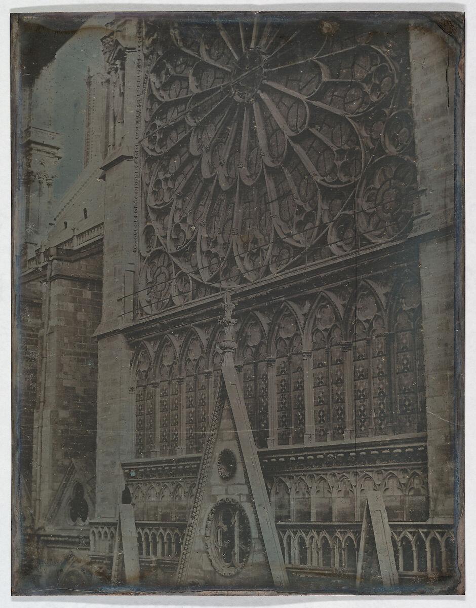 Joseph-Philibert Girault de Prangey | Rose Window, Notre-Dame Cathedral, Paris | The Met