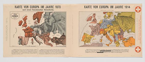 Humoristische Karte Von Europa 1914.Paul Hadol Karte Von Europa Im Jahre 1870 Karte Von