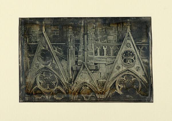 Joseph-Philibert Girault de Prangey   Window Details, North Chevet, Notre-Dame Cathedral   The Met