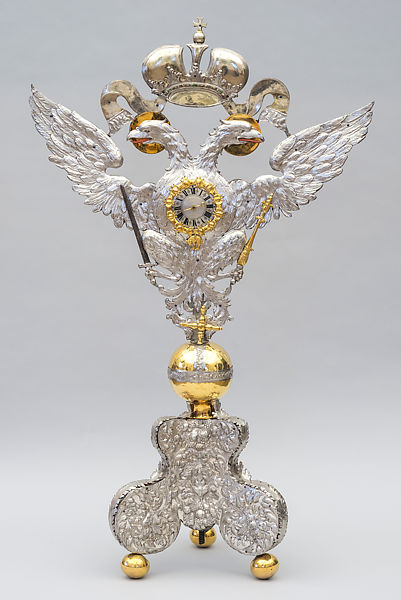 Elias I Kreittmayr The Elder Table Clock In The Form Of An Imperial Double Eagle German Friedberg The Metropolitan Museum Of Art