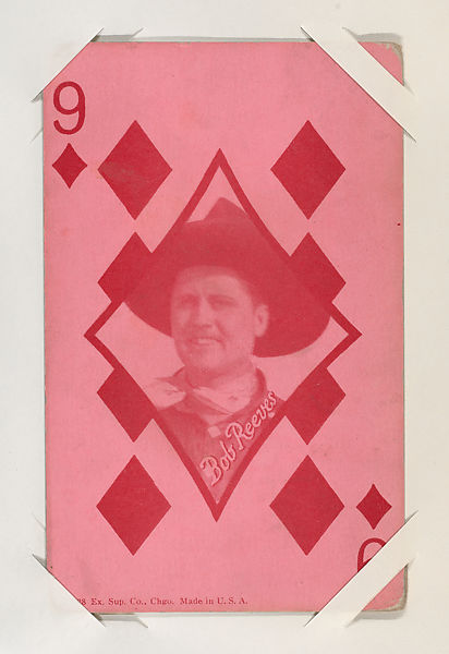 Exhibit Supply Company   Bob Reeves from Western Stars Exhibit Playing Cards (W403)   The Met